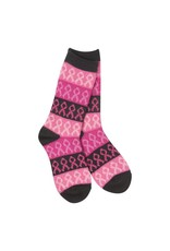 World's Softest World's Softest - Gallery Crew - WS66614 - Pink Multi (Breast Cancer Awareness)