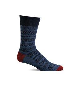 Sockwell Sockwell - Essential Comfort - Baja Crew - LD43M - Denim - Men's