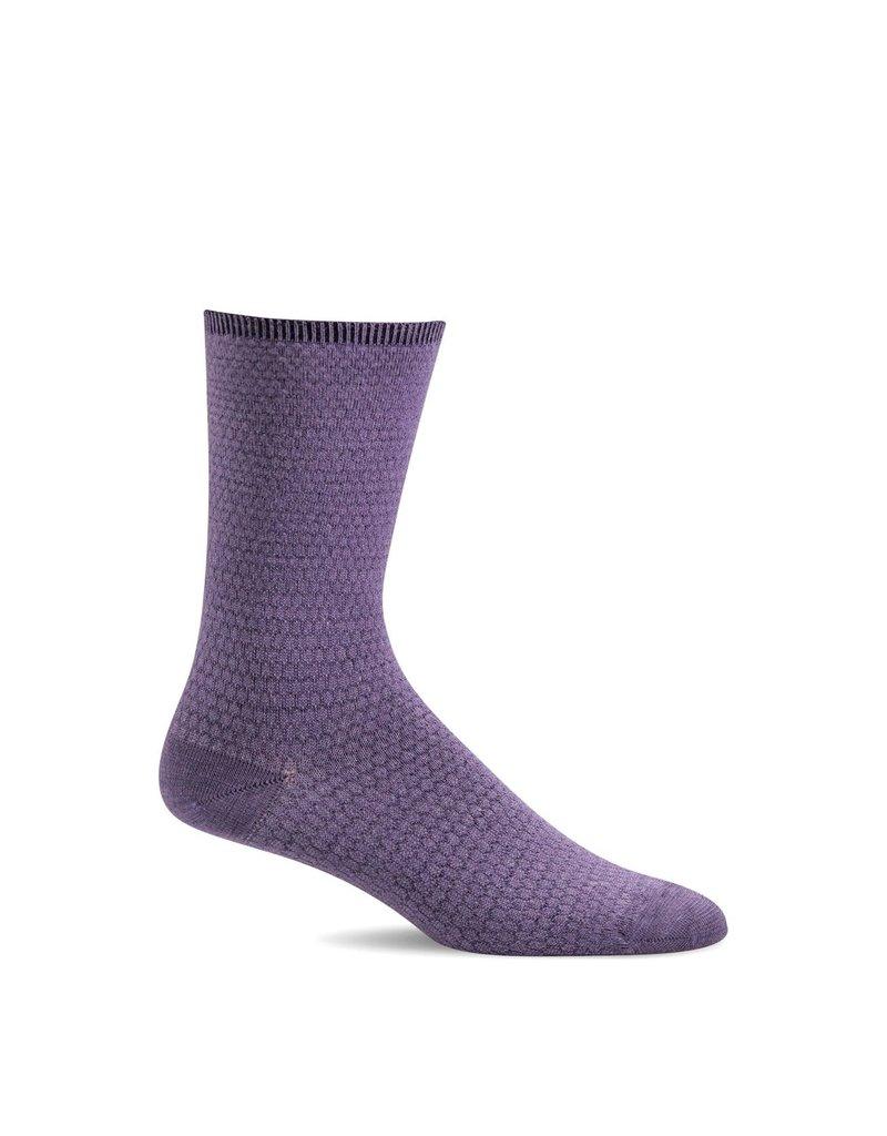 Sockwell Sockwell - Essential Comfort - Wabi Sabi - LD163W - Plum - Women's
