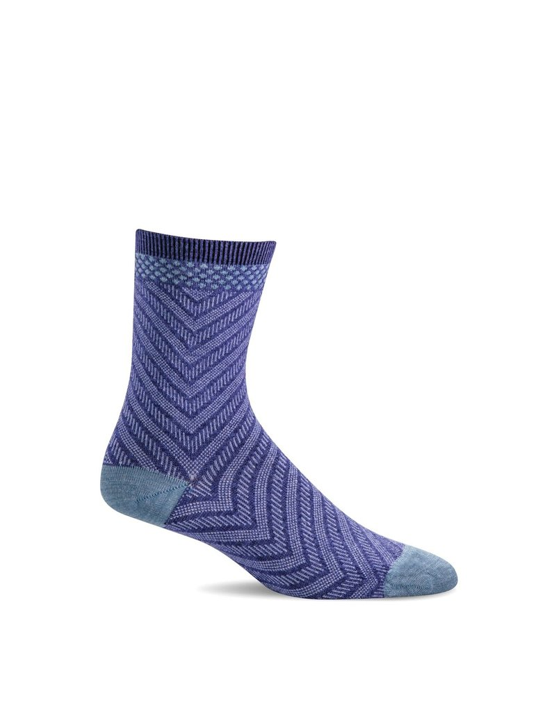 Sockwell Sockwell - Essential Comfort - Very V - LD116W - Hyacinth - Women's