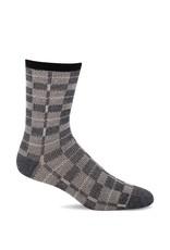Sockwell Sockwell - Essential Comfort - Vintage Plaid - LD175W - Charcoal - Women's