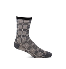 Sockwell Sockwell - Essential Comfort - Vintage Plaid - LD175W - Charcoal - Women's
