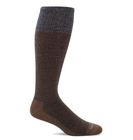 Sockwell Sockwell - Moderate Lifestyle Compression - Bart - SW20M - Bark - Men's