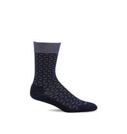 Sockwell Sockwell - Relaxed Fit/Diabetic - Easy Street - SW43M - Black - Men's