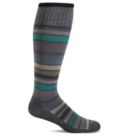 Sockwell Sockwell - Moderate Lifestyle Compression - Twillful - SW27M - Charcoal - Men's