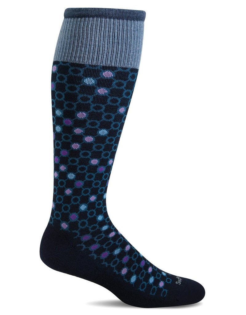 Sockwell Sockwell - Moderate Lifestyle Compression - Kinetic - SW58W - Navy - Women's