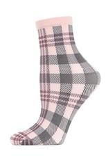 MeMoi MeMoi - Perfect Plaid - Anklet - Dusty Rose - MAF02188 - Women's