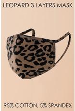 Hyfve Medical Essential Hyfve - Leopard - 3-Layer - Mask - One Size