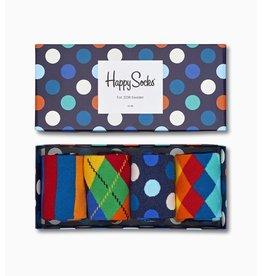 Happy Socks - Big Dot Gift Box - Multi-Color - 4 Pack - Unisex