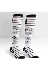 Sock It to Me Sock It to Me - Foot Notes - F0229 - Knee High - Unisex