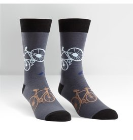 Sock It to Me Sock It to Me - Large Bikes - MEF0052 - Crew - Men's