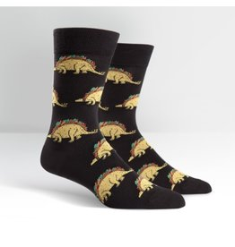 Sock It to Me Sock It to Me - Tacosaurus - MEF0108 - Crew - Men's