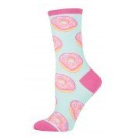 Socksmith Socksmith - Donuts - Mint - WNC425 - Crew - Women's