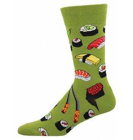 Socksmith Socksmith - Sushi Crew - Fern - MNC603 - Crew - Men's