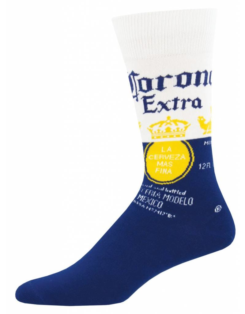 Socksmith Socksmith - Corona - Corona Blue - MNC956 - Crew - Men's