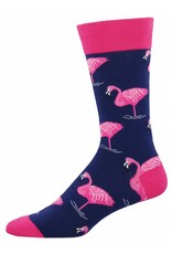 Socksmith Socksmith - Flamingo - Navy - MNC605 - Crew - Men's