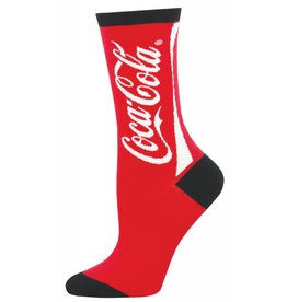 Socksmith Socksmith - Coca-Cola - Red - WNC1552 - Crew - Women's