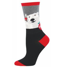 Socksmith Socksmith - Cheers - Charcoal Heather - WNC1554 - Crew - Women's