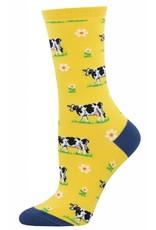 Socksmith Socksmith - Legendairy - Yellow - WNC1516 - Crew - Women's