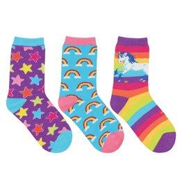 Socksmith Socksmith - Sparkle Party - 3-Pack - Crew - Kids