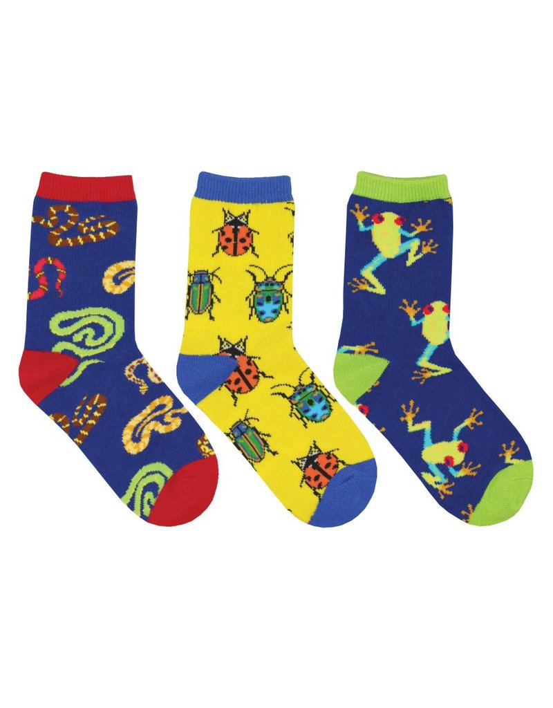 Socksmith Socksmith - Science Camp - 3-Pack - Crew - Kids