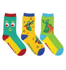 Socksmith Socksmith - Gumby - 3-Pack - Crew - Kids
