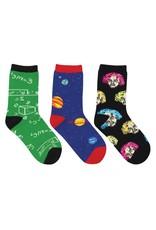 Socksmith Socksmith - Relatively Awesome - 3-Pack - Crew - Kids