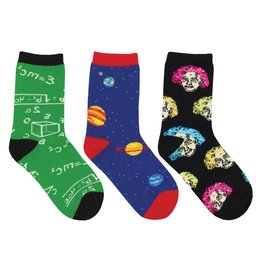 Socksmith Socksmith - Relatively Awesome - 3-Pack - Crew - Kids