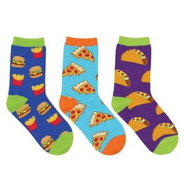 Socksmith Socksmith - Yummy In My Tummy - 3-Pack - Crew - Kids