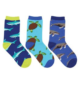 Socksmith Socksmith - Little Swimmers - 3-Pack - Crew - Kids