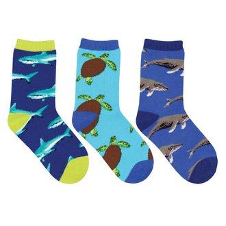 Blue Socksmith Kids Novelty SocksLittle Rebel