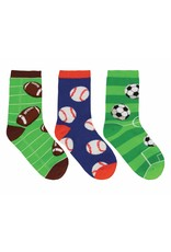Socksmith Socksmith - Good Sport - 3-Pack - Crew - Kids