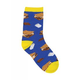 Socksmith Socksmith - Want S'more? - Crew - Kids
