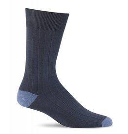 Sockwell Sockwell - Essential Comfort - Chelsea Rib - LC13M - Navy - Men's