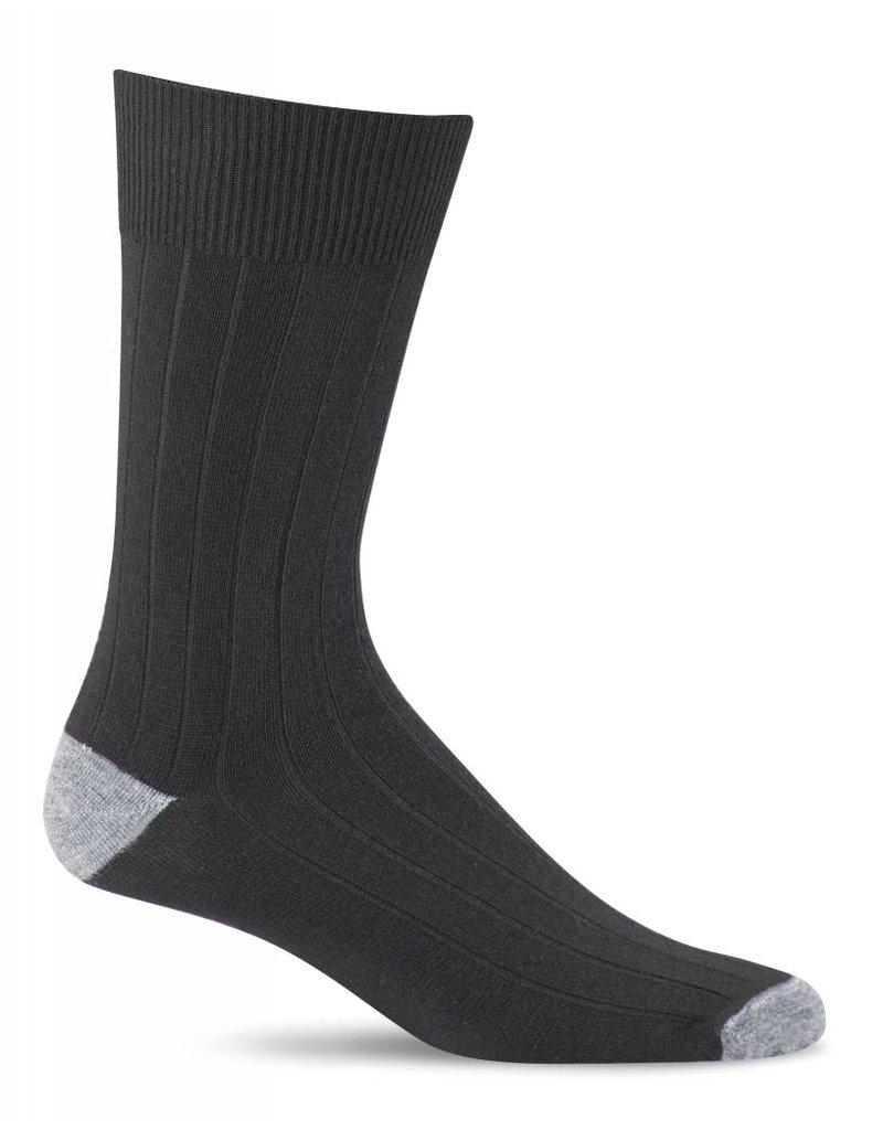 Sockwell Sockwell - Essential Comfort - Chelsea Rib - LC13M - Black - Men's