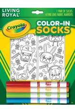 Living Royal Living Royal - Puppy Vibes - Color-In Socks - 117CIS - Crew