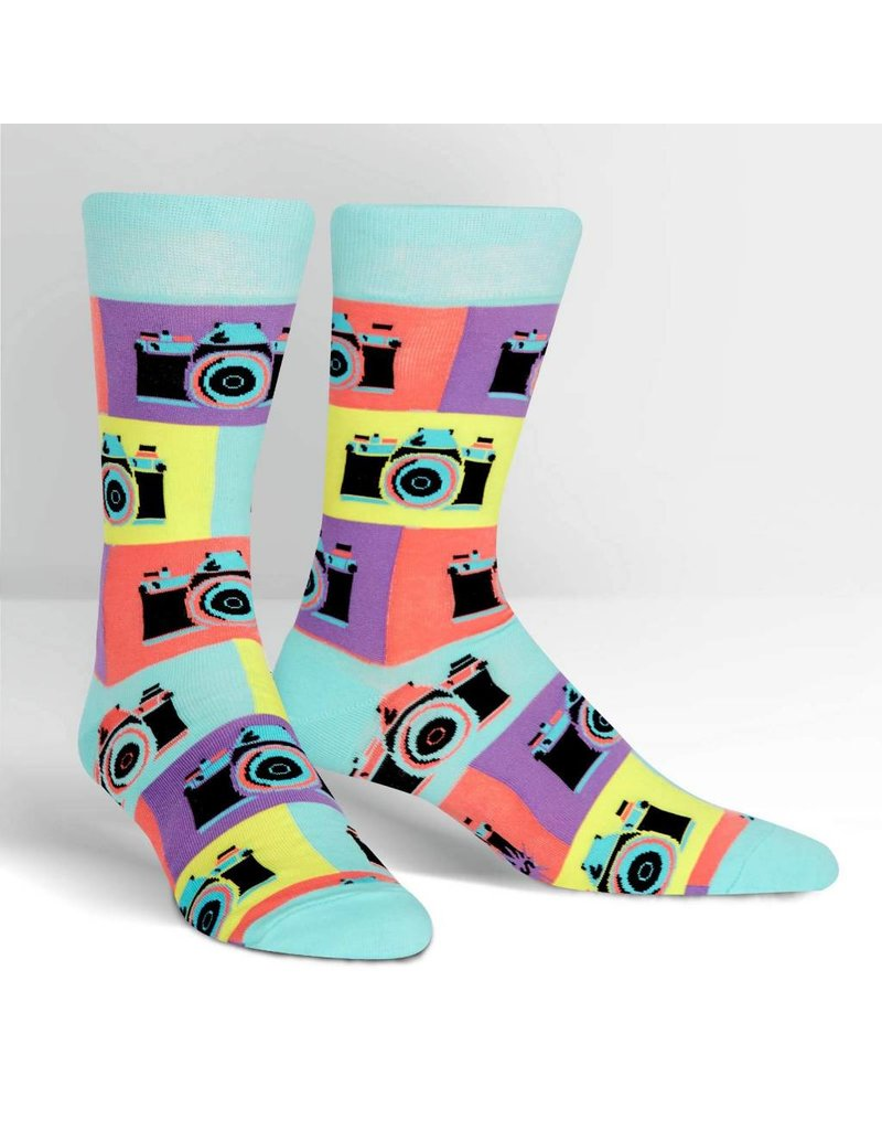 Sock It to Me Sock It to Me - Say Cheese - MEF0281 - Crew - Men's