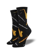 Socksmith Socksmith - Woodwinds - Black - WNC1603 - Crew - Women's