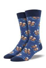 Socksmith Socksmith - Significant Otter - Blue - MNC1633 - Crew - Men's
