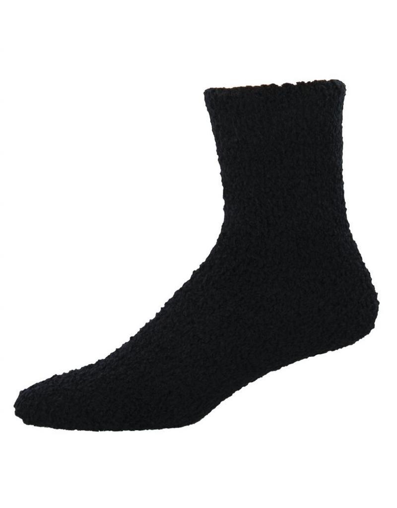 Socksmith Socksmith - Warm & Fuzzy - Black - MTC1 - Crew - Men's