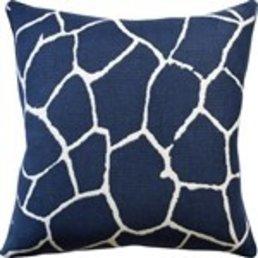 "Ryan Studio Kaliveli Navy Pillow 22""x22"""