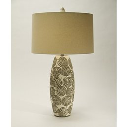The Natural Light Relief Lamp w/Linen Shade
