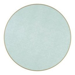 Holly Stuart Round Placemat- Sea 15""