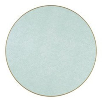"""Holly Stuart Round Placemat- Sea 15"""""""
