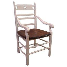 Camlen Ladderback Paysanne French Arm Chair