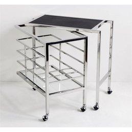 Interlude Maxwell Bar Cart
