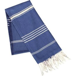 Rockflowerpaper Fouta French Blue Cotton Towel/Throw