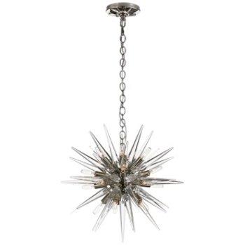 Quincy Small Sputnik Pendant- Polished Nickel