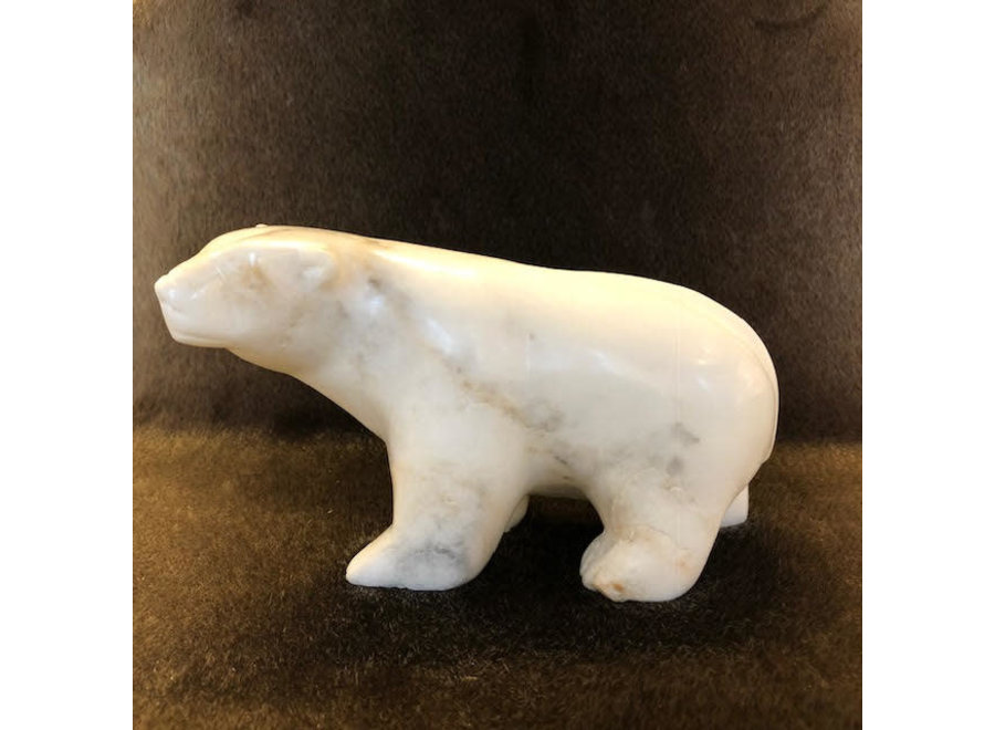 White bear - Tommy Pitseolak Kingwatsiak