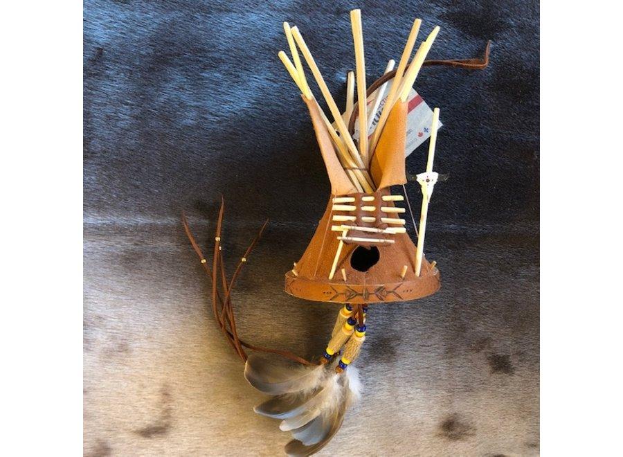 Teepee en peau d'orignal - Kak-Ilnu